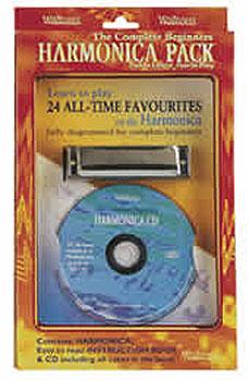 Beginners Harmonica Triple Pack Harmonica (CD, Book & Harmonica)