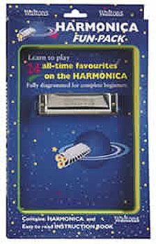 Kids Harmonica Fun-pack: (Harmonica & Book)