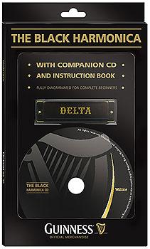 Guinness Black Harmonica Triple Pack (Book, CD & Harmonica)
