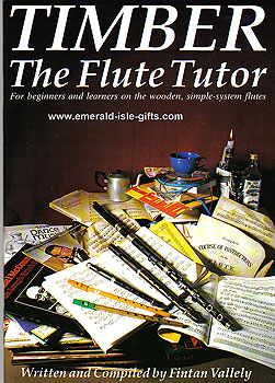 Timber The Flute Tutor Book (For Wooden System Flutes)