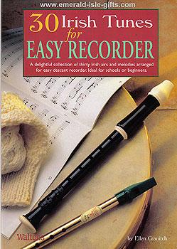30 Irish Tunes For Easy Recorder Sheet Music