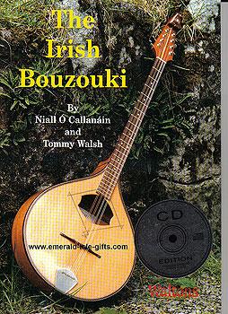 The Irish Bouzouki Tutor Book & CD (by Naill O