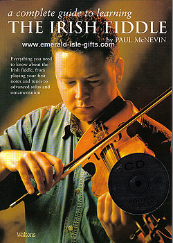 Irish Fiddle CD & Book Edition (by Paul McNevin)