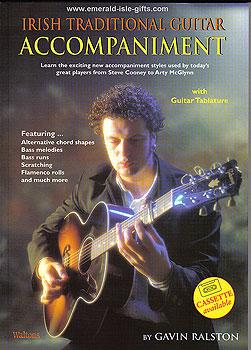 Irish Traditional Guitar Accompaniment (Tutor with Sheet Music)