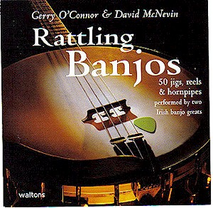 Rattling Banjos 50 Jigs Reels Hornpipes CD (by Gerry O