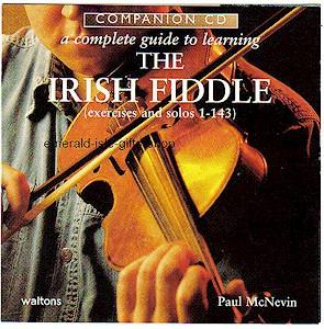 Irish Fiddle Companion Tutor CD (by Paul McNevin)