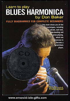 Learn To Play Blues Harmonica CD Edit.