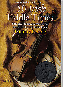 50 Irish Fiddle Tunes With Tommy Peoples CD Edit.