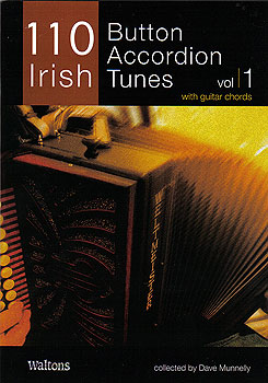 110 Irish Button Accordian Tunes Vol 1 Book