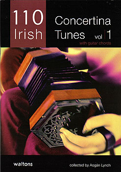 110 Irish Concertina Tunes Vol 1 Book (with Guitar Chords)