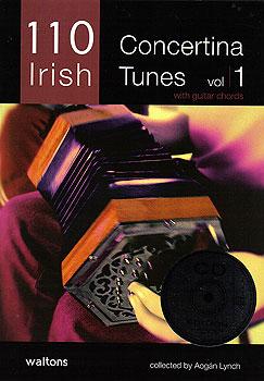 110 Irish Concertina Tunes Vol 1 CD Edit. (Book & CD)