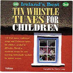 110 Irish Tin Whistle Tunes for Children CD (2 CD Double CD set)