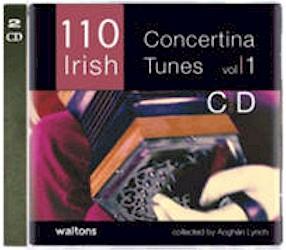 110 Irish Concertina Tunes Music CD (2 CD Set - 110 tunes)