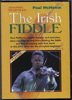 DVD Tutor - The Irish Fiddle (for Absolute Beginners)