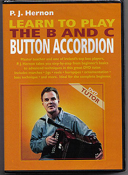 DVD Tutor Learn the Button Accordian