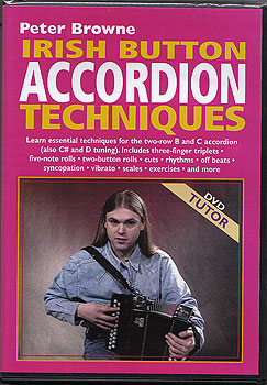 DVD Tutor Irish Button Accordian