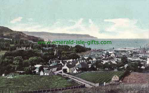 Glenarm - Antrim - View from above