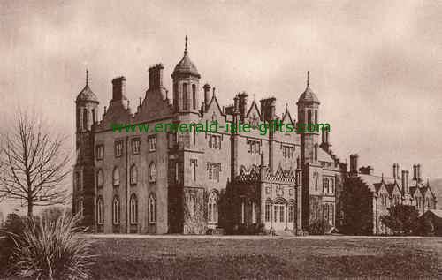 Glenarm Castle - Antrim - old photo