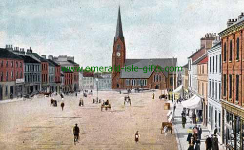Lurgan - Armagh - High St - Color