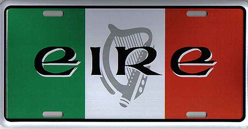 Irish Tricolor & Harp