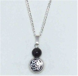 Kilkenny Marble Pendant - Circle Celtic Knot