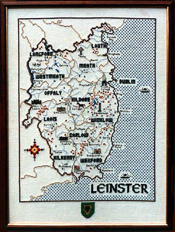 Leinster Cross Stitch Pattern / Kit