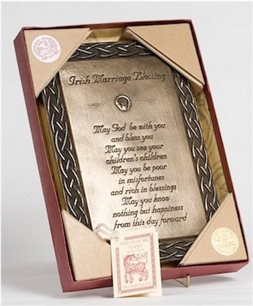 Irish Wedding Blessing Gifts: Irish Marriage Blessing Prayer