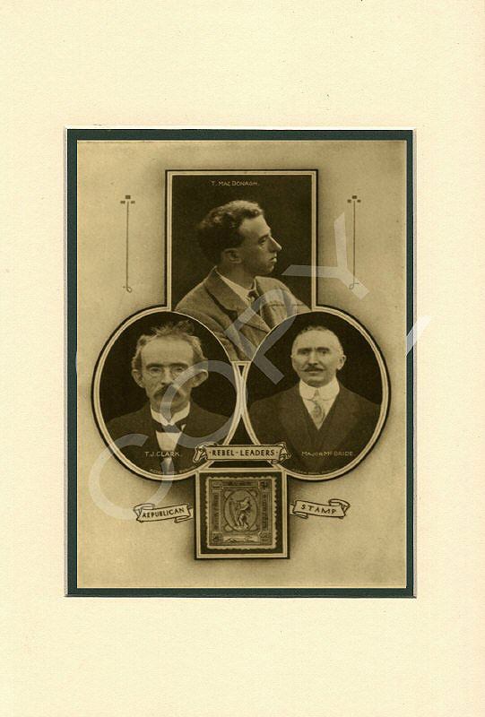 Tom Clarke, Thomas Macdonagh, Count Plunkett