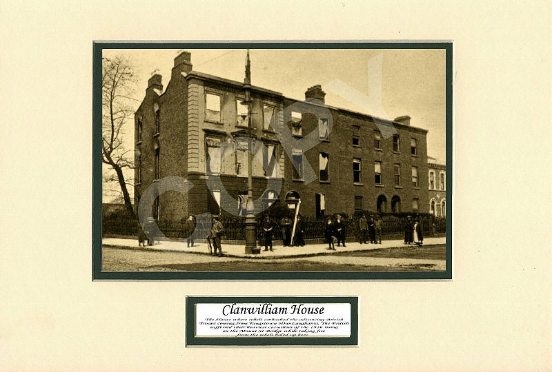Easter rising 1916 clanwilliam house easter rising 1916 scene of clanwilliam house easter rising 1916 negle Images