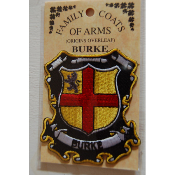 Burke Irish County Crest Ireland Decal Sticker Shield  Badge Ireland