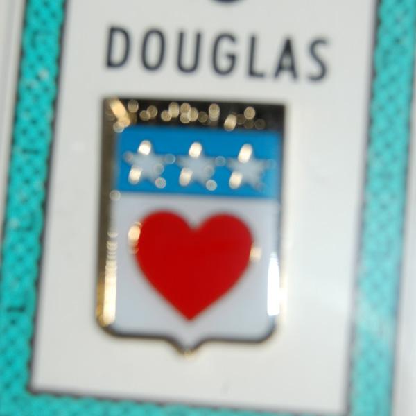 coat of arms heraldic lapel pins douglas pin lapel clip badge coat of arms. Black Bedroom Furniture Sets. Home Design Ideas