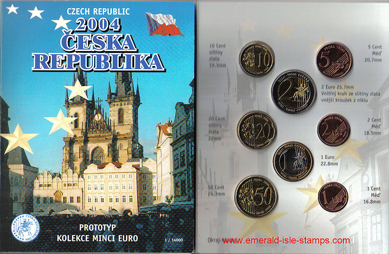 Czech Republic Euro Pattern Set