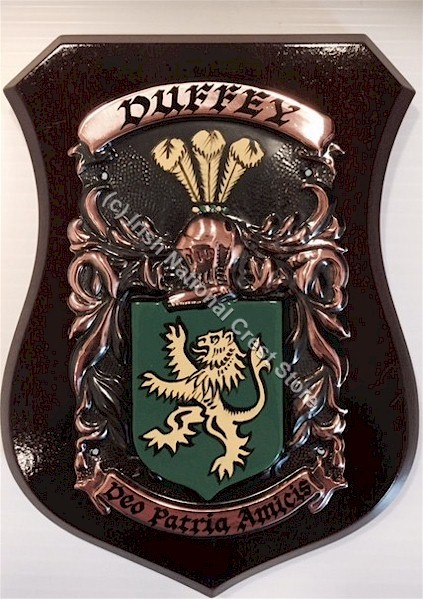 Hand Painted Coat Of Arms Shield