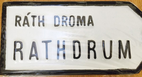 Rathdrum Old Style Road Sign
