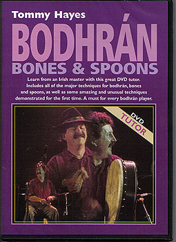 DVD Tutor Bodhran, Bones & Spoons