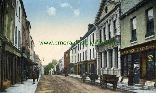 Carlow Town - B/W - Dublin St