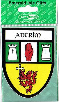 Antrim County Car Sticker (Glensmen)