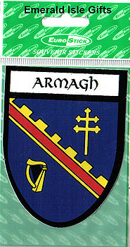 Armagh County Car Sticker