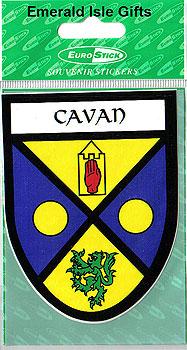 Cavan County Car Sticker (Breffni Men)