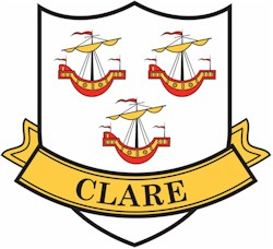 Clare County Car Sticker