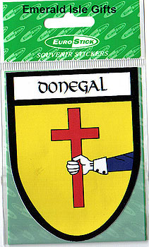 Donegal County Car Sticker