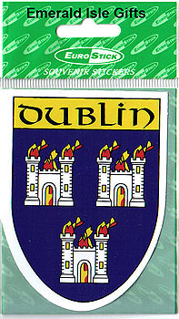 Dublin County Car Sticker (The Dubs)