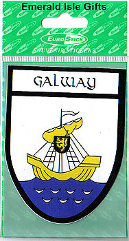 Galway County Car Sticker