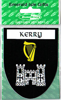 Kerry County Car Sticker (The Kingdom)