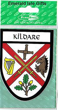 Kildare County Car Sticker (Lilywhites)