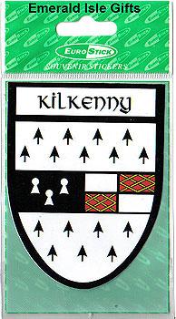 Kilkenny County Car Sticker (The Cats)