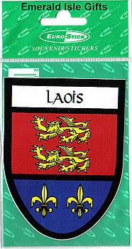 Laois County Car Sticker (O