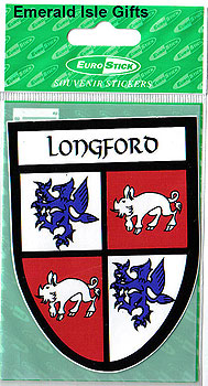 Longford County Car Sticker