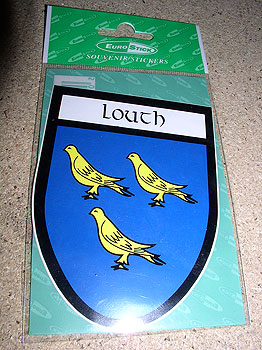Louth County Car Sticker