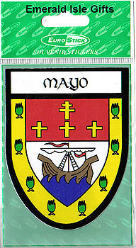 Mayo County Car Sticker